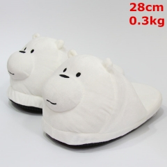 We Bare Bears For Adult Cute Cartoon Anime Plush Slipper