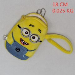 Despicable Me  Anime Coin Wallet Bag Cute Designs Plush Purse