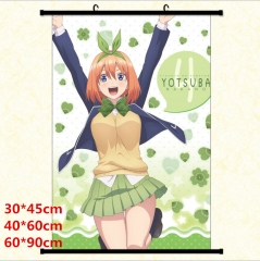 The Quintessential Quintuplets Cartoon Wallscrolls Waterproof Anime Wallscrolls