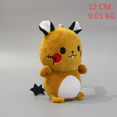 Pokemon Anime Doll Plush Pendant Stuffed Doll Cushion 12cm