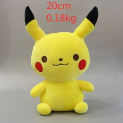 Pokemon  Pikachu Anime Doll Plush Stuffed Doll Cushion 25cm