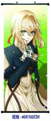 Violet Evergarden Cosplay Cartoon Wall Scrolls Decoration Anime Wallscrolls