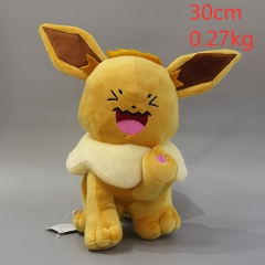 Pokemon Eevee Anime Doll Plush Stuffed Doll Cushion 30 cm