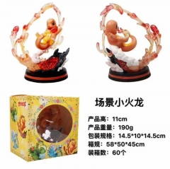 Pokemon Pikachu COS Charmander Anime Action Figure Model Toy 11cm