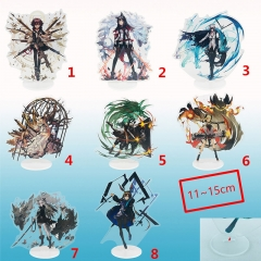 8 Designs Arknights Cartoon Character Cosplay Anime Standing Plate