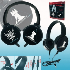 Arknights Cartoon Color Printing Anime Headphone