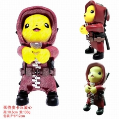 Deadpool Cos Pokemon Pikachu Anime Action Figure Model Toy 10.5cm