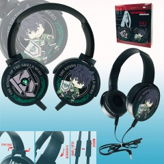 The Rising of The Shield Hero Color Printing Cartoon Cosplay Anime Rotatable Headphone