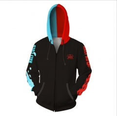 My Hero Academia Anime 3D Print Casual Zipper Hoodie