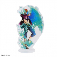 One Piece Marco Character Cartoon Cosplay Acrylic Anime Standing Plates