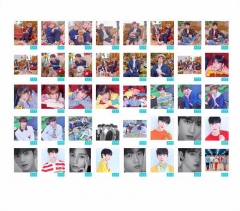 K-POP TXT TOMORROW X TOGETHER Anime Photo Card Lomo Cards 40 PCS/Set