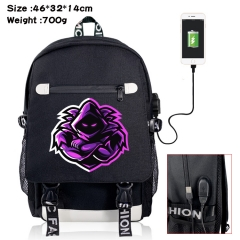 Fortnite Canvas Students Backpack Anime Bag