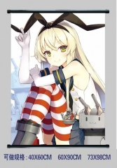 Azur Lane Cosplay Cartoon Wall Scrolls Decoration Anime Wallscrolls