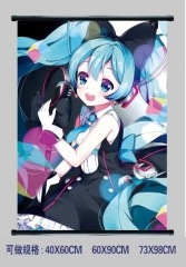 Hatsune Miku Cosplay Cartoon Wall Scrolls Decoration Anime Wallscrolls