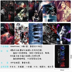 Tokyo Ghoul Anime Cartoon Pattern ID Card Stickers 10pcs/set (5 Sets)