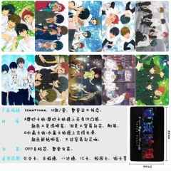 Free  Anime Cartoon Pattern ID Card Stickers 10pcs/set (5 Sets)