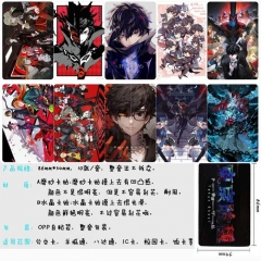 Shin Megami Tensei Anime Cartoon Pattern ID Card Stickers 10pcs/set (5 Sets)