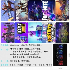 Fortnite Anime Cartoon Pattern ID Card Stickers 10pcs/set (5 Sets)