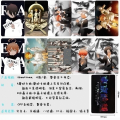 The Promised Neverland Anime Cartoon Pattern ID Card Stickers 10pcs/set (5 Sets)