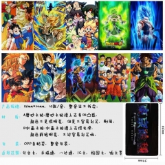 Dragon Ball Z Anime Cartoon Pattern ID Card Stickers 10pcs/set (5 Sets)