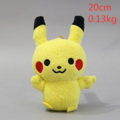 Pokemon Pikachu Anime Cartoon Plush Toy Stuffed Dolls 20cm