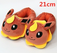 Pokemon Flareon For Kids Cute Cartoon Anime Plush Slipper 21CM (3-8 Years Old)