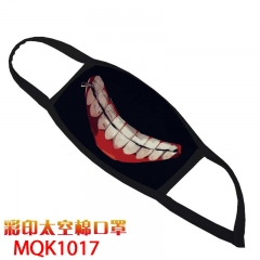 Tokyo Ghoul Cosplay Cartoon Mask Space Cotton Anime Print Mask
