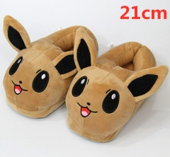 Pokemon For Kids Cute Cartoon Anime Plush Slipper 21CM (3-8 Years Old)