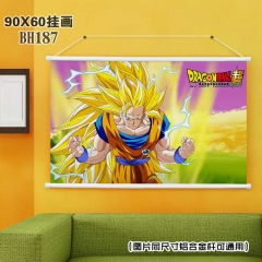 Dragon Ball Z Cartoon Wallscrolls Waterproof Anime Wallscrolls 90X60