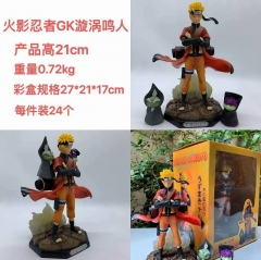 GK Naruto Cartoon Character Cosplay Anime PVC Figure Model Toys