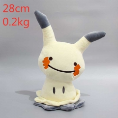Pokemon Pikachu Anime Cartoon Plush Toy Stuffed Dolls 28CM
