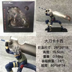 Naruto Kakashi Cartoon Character Anime Figure Collection Model Toy