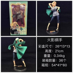 Naruto Tsunade Cartoon Character Anime Figure Collection Model Toy