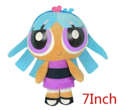 The Powerpuff Girls Cartoon Stuffed Doll Kawaii Anime Plush Toys For Kids 7inch