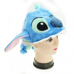 Lilo & Stitch Cute Cartoon Cosplay For Winter Unisex Anime Plush Hat