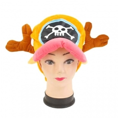 One Piece Chopper Cartoon Cosplay For Winter Unisex Anime Plush Hat