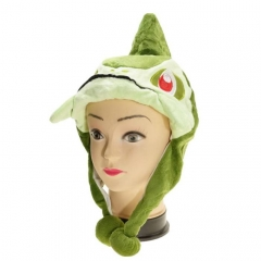 Frog Animal Cute Cartoon Cosplay For Winter Unisex Anime Plush Hat