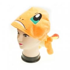 Pokemon Charmander Cute Cartoon Cosplay For Winter Unisex Anime Plush Hat
