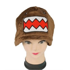 Domo Kun Cartoon Cosplay For Winter Unisex Anime Plush Hat