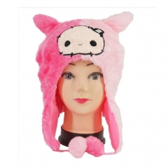 Cute Cartoon Cosplay For Winter Unisex Anime Plush Hat
