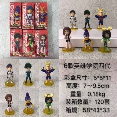 Boku no Hero Academia/My Hero Academia 4 Generation Cartoon Character Model Toy Anime PVC Figure Set
