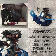 Naruto Uchiha Madara Cartoon Character Cosplay Anime Figure Collection Model Toy