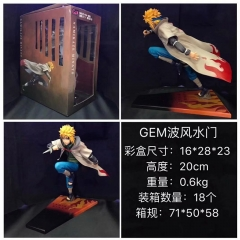 Naruto Namikaze Minato Cartoon Character Cosplay Anime Figure Collection Model Toy