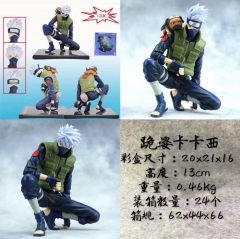 Naruto Hatake Kakashi Cartoon Character Model Toy Anime PVC Figure