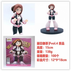 My Hero Academia OCHACO URARAKA Cartoon Cosplay Anime PVC Figure Model Collection Toy