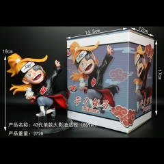 Naruto Deidara 859#H Cosplay Cartoon Character Model Toy Anime Figure