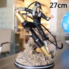 Naruto Sarutobi Hiruzen Collection Cartoon Model Toy Anime PVC Figure 27cm