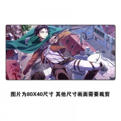 Attack on Titan/Shingeki No Kyojin Cartoon Cosplay Cheapest Mouse Pad Fancy Print Mouse Pad