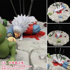 Naruto GK  JIRAIYA Cartoon Character Collection Toy Anime PVC Figure 25 cm
