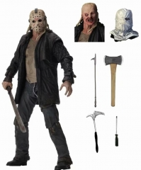 Friday the 13th Jason Movie Character Cosplay Cartoon Toy Anime Figure